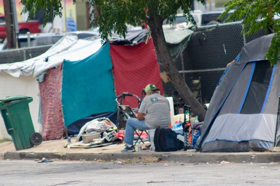 Homelessness is on the rise, according to new estimates. (Christopher Neely/Community Impact Newspaper)