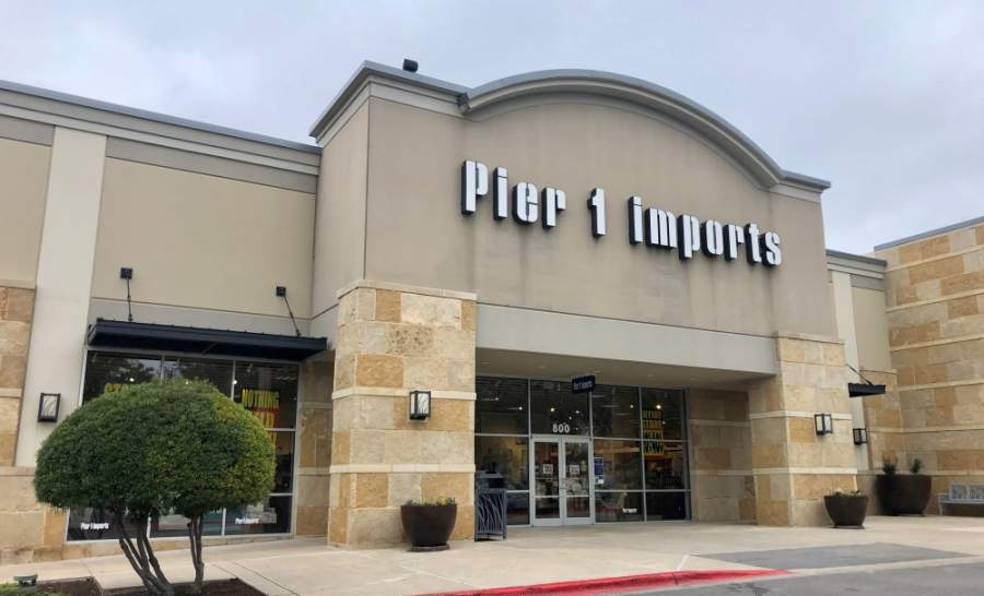 Pier 1 Imports is preparing to go out of business, the Fort Worth-based company announced May 19. (Sally Grace Holtgrieve/Community Impact Newspaper)