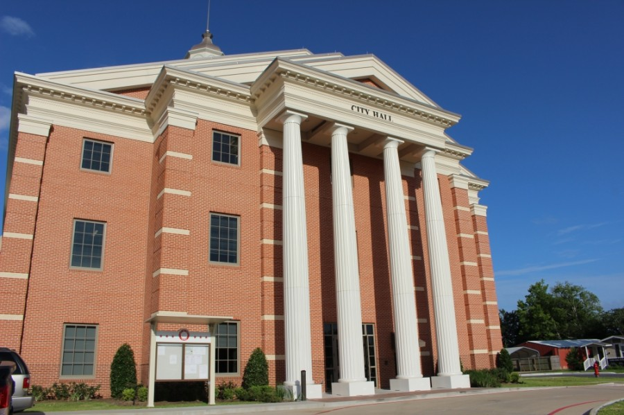 Katy City Hall will reopen to the public on a limited basis beginning June 1. (Nola Z. Valente/Community Impact Newspaper)
