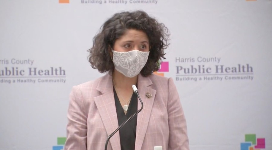 Previously set to expire May 20, the disaster declaration allows the county to adequately respond to the ongoing coronavirus pandemic, Harris County Judge Lina Hidalgo said during the meeting. (Screenshot courtesy ABC 13)