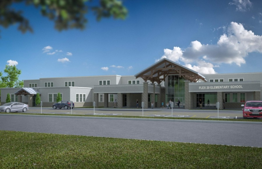 Conroe ISD will open a new elementary school in the Caney Creek feeder zone in August 2021. (Courtesy Conroe ISD)