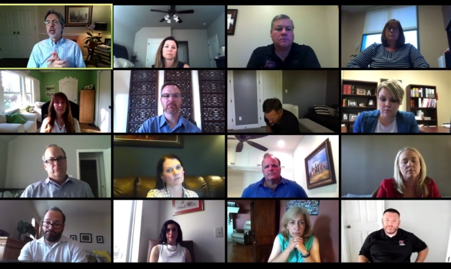 Lake Travis ISD discussed the 2020-21 school year during a virtual May 20 meeting. (Courtesy Lake Travis ISD)