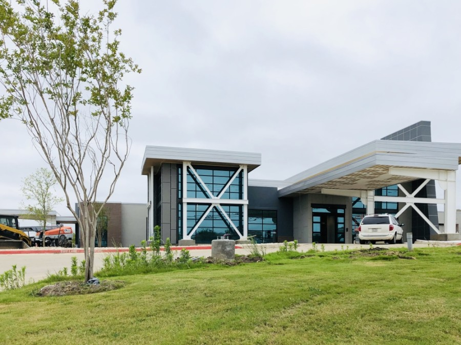Expected to open in March, an Everest Rehabilitation Hospital will open in late 2020 at 955 S. Main St., Keller. (Ian Pribanic/Community Impact Newspaper)
