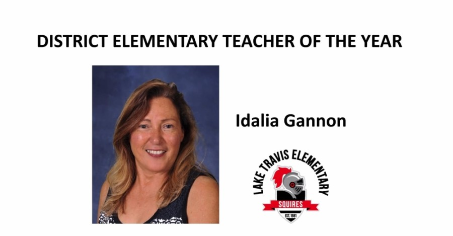 Idalia Gannon was announced as LTISD's 2019-20 Elementary School Teacher of the Year. (Courtesy Lake Travis ISD)
