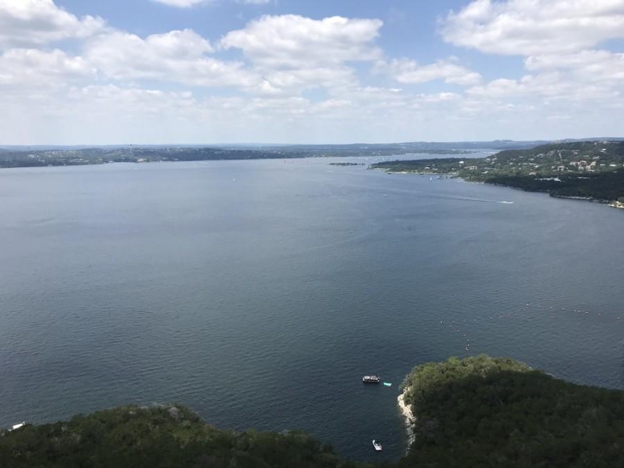 A photo of Lake Travis