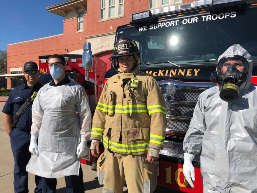 The McKinney Fire Department is planning to test the 200 residents and staff of Belterra Health and Rehab in McKinney on May 22. (Courtesy McKinney Fire Department)