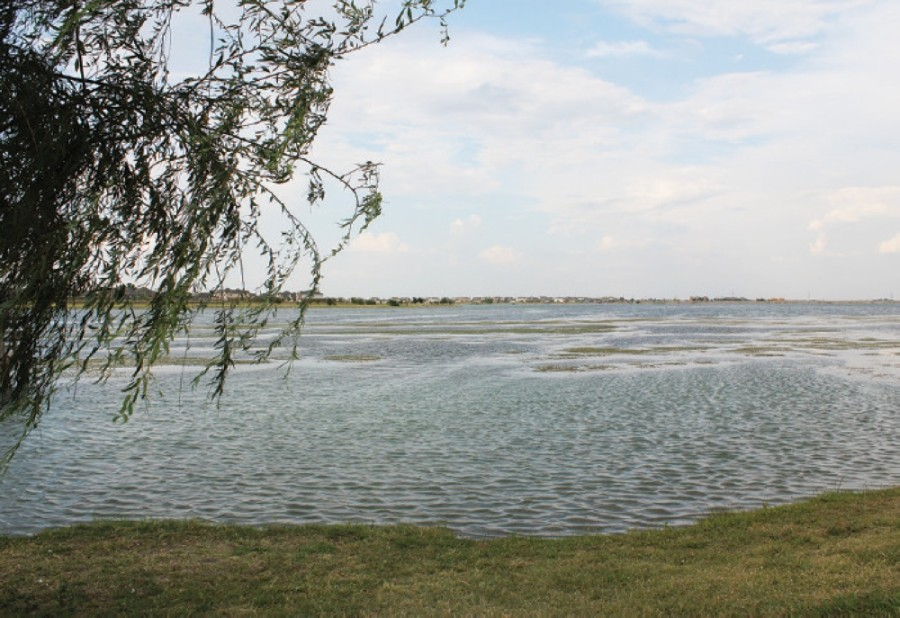 Under the approved motion, only the trail will be available for use at Lake Pflugerville come May 26. (Community Impact staff)