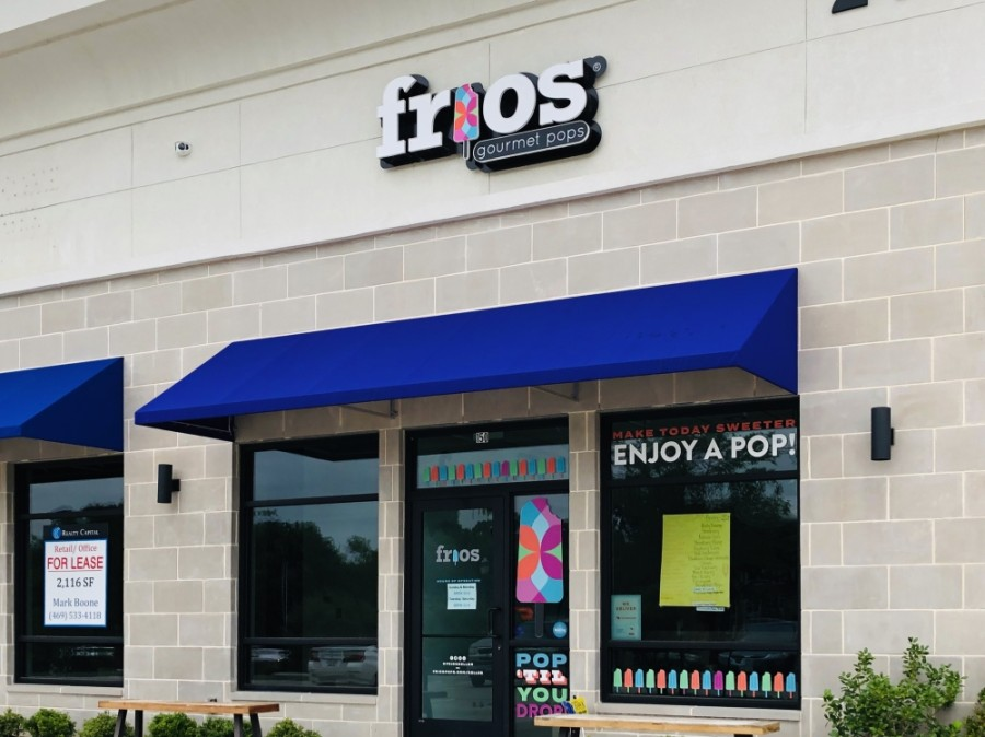 Frio's Gourmet Pops in Keller is celebrating one year in business in 2020. (Ian Pribanic/Community Impact Newspaper)