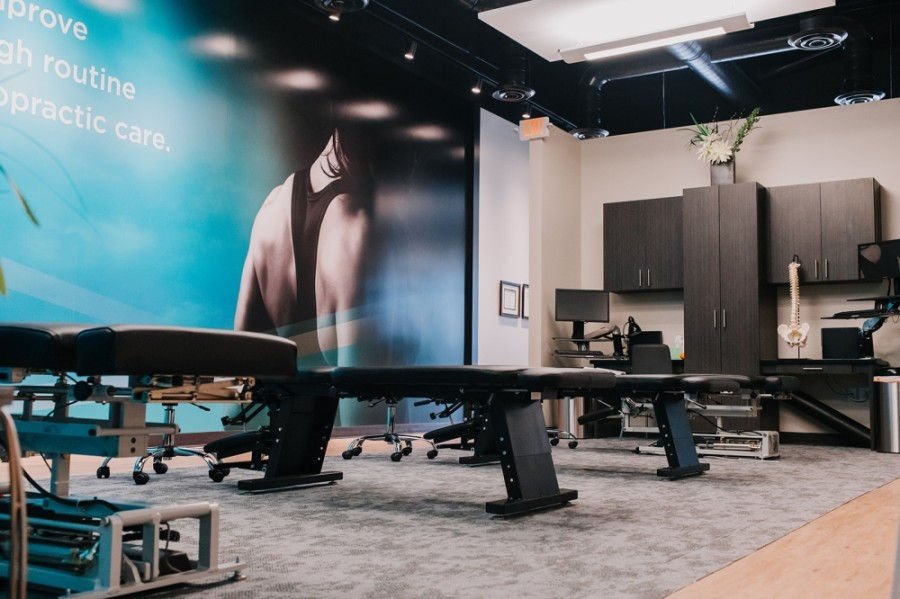 The Joint Chiropractic relocated its Creekside Park facility to Indian Springs in May. (Courtesy Noah Stone)