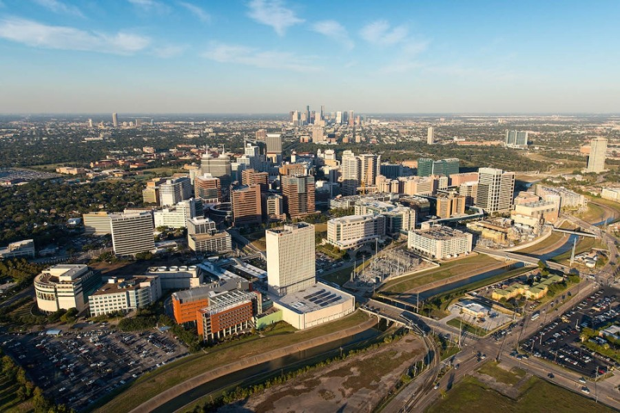 Texas Medical Center has seen nearly a 26% increase in COVID-19 discharges over the past few weeks. (Courtesy Texas Medical Center)