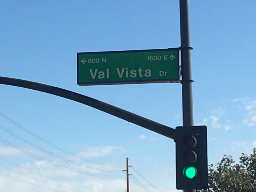 Val Vista Drive will have restrictions from Appleby to Brooks Farm roads through July 21. (Tom Blodgett/Community Impact Newspaper)