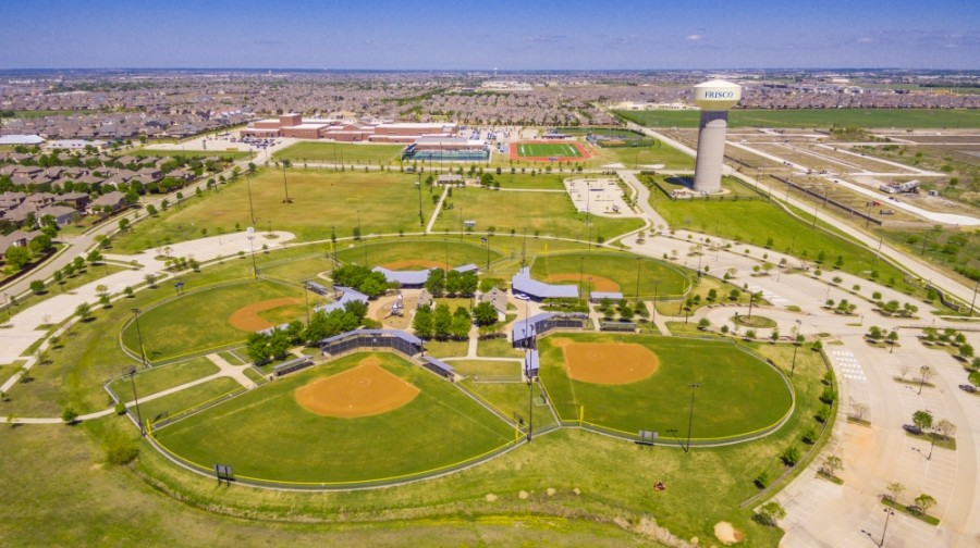 B.F. Phillips Community Park is among the outdoor recreation options listed for potential travels to the city on Visit Frisco's website. (Courtesy Visit Frisco)