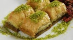 Al Baghdady offers a variety of Middle Eastern desserts, including pistachio baklava. (Courtesy Al Baghdady Bakery & Restaurant)
