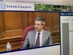 Hays County Judge Ruben Becerra is encouraging testing for residents. (Joe Warner/Community Impact Newspaper)