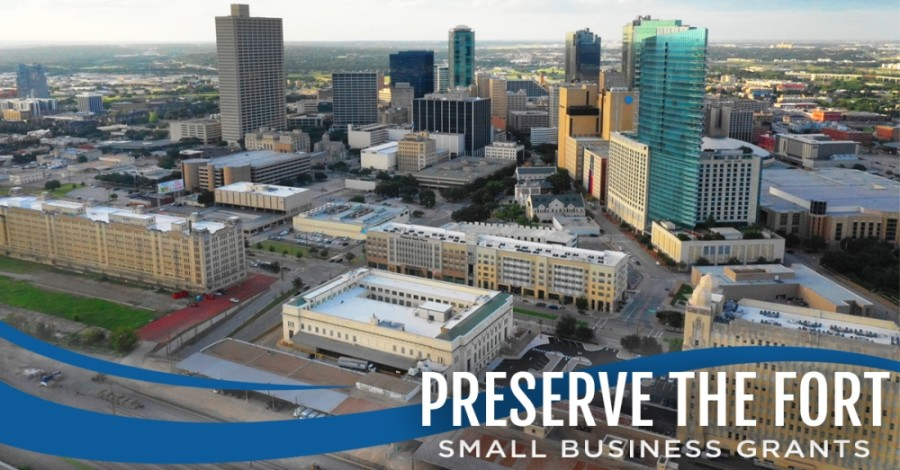 "City officials announced May 26 that $10 million allocated to the city through the Coronavirus Aid, Relief, and Economic Security Act will be used for the ""Preserve The Fort"" small-business grant program. (Courtesy city of Fort Worth)"
