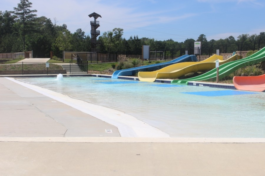 According to several Facebook posts, Grand Texas officials pushed forward with opening the water park on May 23 despite state orders. (Kelly Schafler/Community Impact Newspaper)