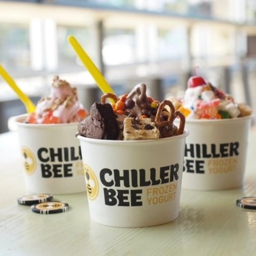 The frozen yogurt shop serves 12 flavors of frozen yogurt and over 50 toppings. (Courtesy Chiller Bee Frozen Yogurt)