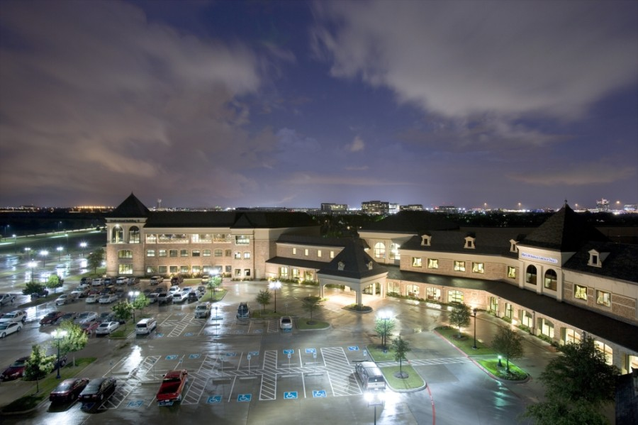About 50 hospitals and more than 800 patient care sites fall under the Baylor Scott & White umbrella, including this hospital in Frisco. (Courtesy Baylor Scott & White)