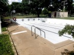 The city of Austin is working to reopen pools, including the Brentwood Neighborhood Pool in Central Austin, in June. (Jack Flagler/Community Impact Newspaper)