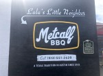 Do-Rite Barbecue has rebranded to Metcalf Barbecue after a legal challenge from Do-Rite Donuts out of Chicago. (Jack Flagler/Community Impact Newspaper)
