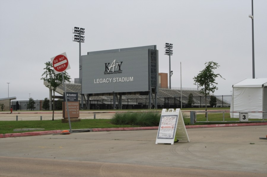 After a Harris County COVID-19 drive-thru testing site closes at the end of May, Katy ISD's Legacy Stadium will host the class of 2020 for their graduation ceremonies, KISD Superintendent Ken Gregorski said. (Jen Para/Community Impact Newspaper)