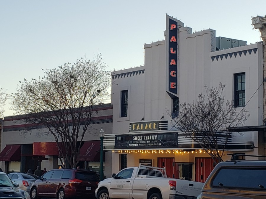 Georgetown's Palace Theatre will become a temporary movie theater. (Ali Linan/Community Impact Newspaper)