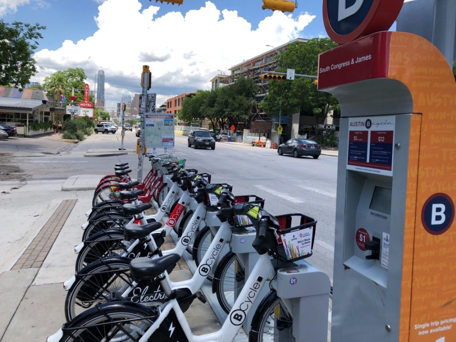 A new partnership between Capital Metro and Austin BCycle could rebrand the bikeshare service as Metro Bike and allow residents to purchase passes to use public transit and the bicycles together. (Courtesy Austin BCycle)