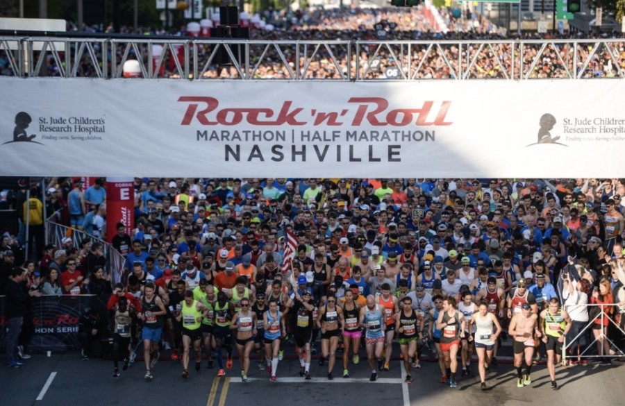 The annual St. Jude Rock 'n' Roll Nashville Marathon & 1/2 Marathon will now be held the weekend before Thanksgiving. (Courtesy St. Jude Rock 'n' Roll Nashville Marathon & 1/2 Marathon)