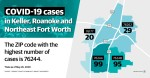 As of May 26, there were a combined 243 confirmed cases in the four ZIP codes that make up Community Impact Newspaper's coverage area. (Katherine Borey/Community Impact Newspaper)
