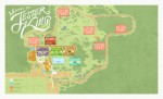 A map of the Jester King Brewery property