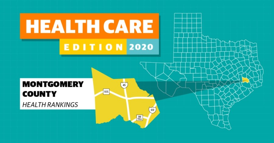 In terms of county health in 2020, Montgomery County ranked among the top 15 on length of life and quality of life.