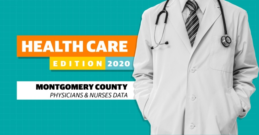 Montgomery County has more physicians and registered nurses per 100,000 residents than the nearby Harris County. (Community Impact Newspaper staff)