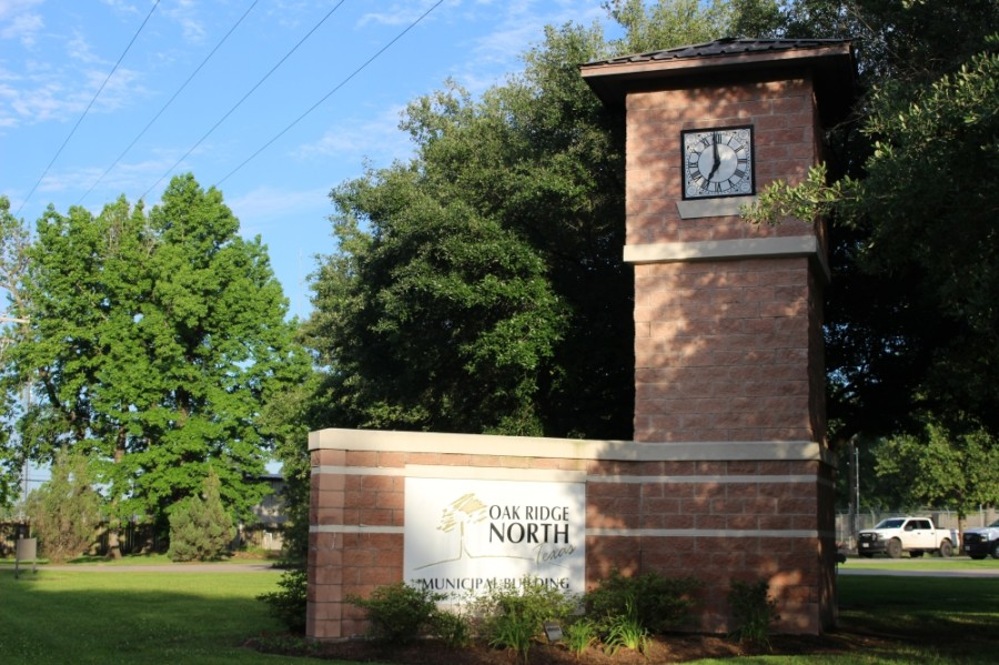 Oak Ridge North City Council met for a specially called session May 27. (Ben Thompson/Community Impact Newspaper)