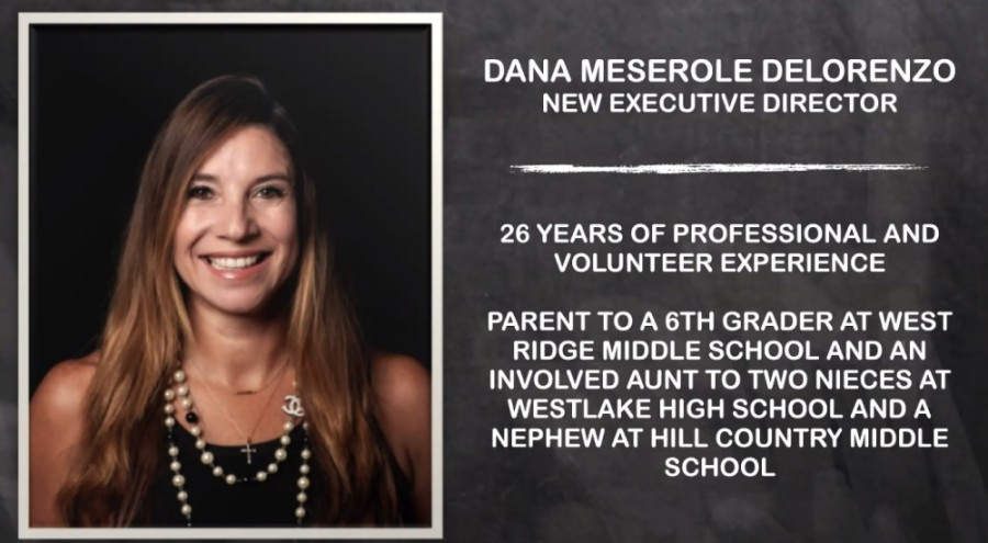 Dana Meserole Delorenzo will serve as the Eanes Education Foundation's new executive director. (Courtesy Eanes ISD)