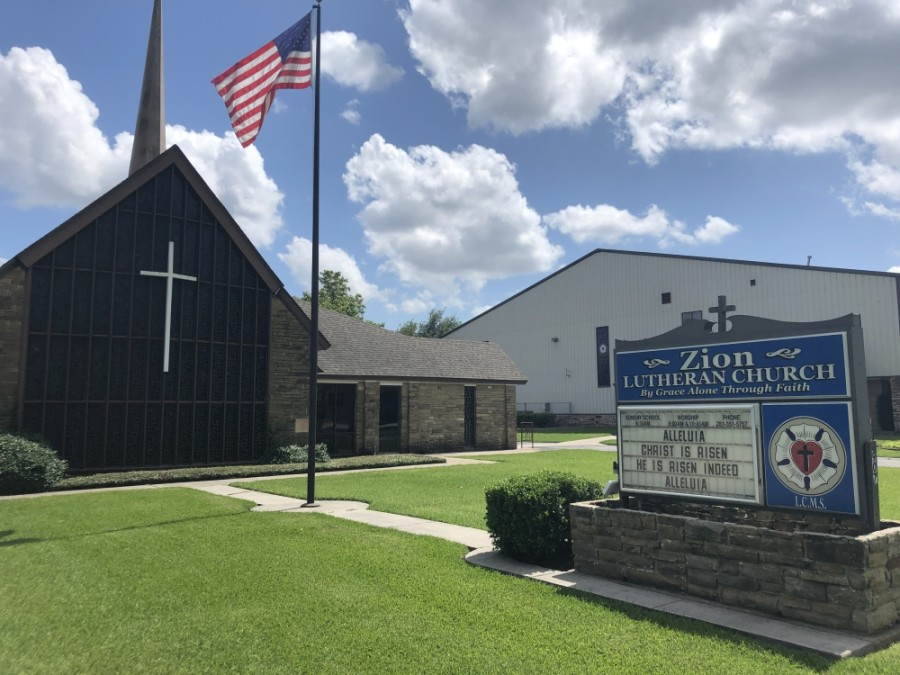Churches in Tomball and Magnolia have opted to livestream services in order to reach more of their members. (Dylan Sherman/Community Impact Newspaper)