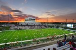 Cy-Fair ISD's Pridgeon Stadium will soon be home to a Harris County COVID-19 testing site. (Courtesy Cy-Fair ISD)
