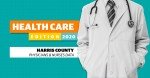 Harris County has fewer physicians and registered nurses per 100,000 residents than nearby Montgomery County, according to 2019 data from Texas Health and Human Services. (Community Impact staff)