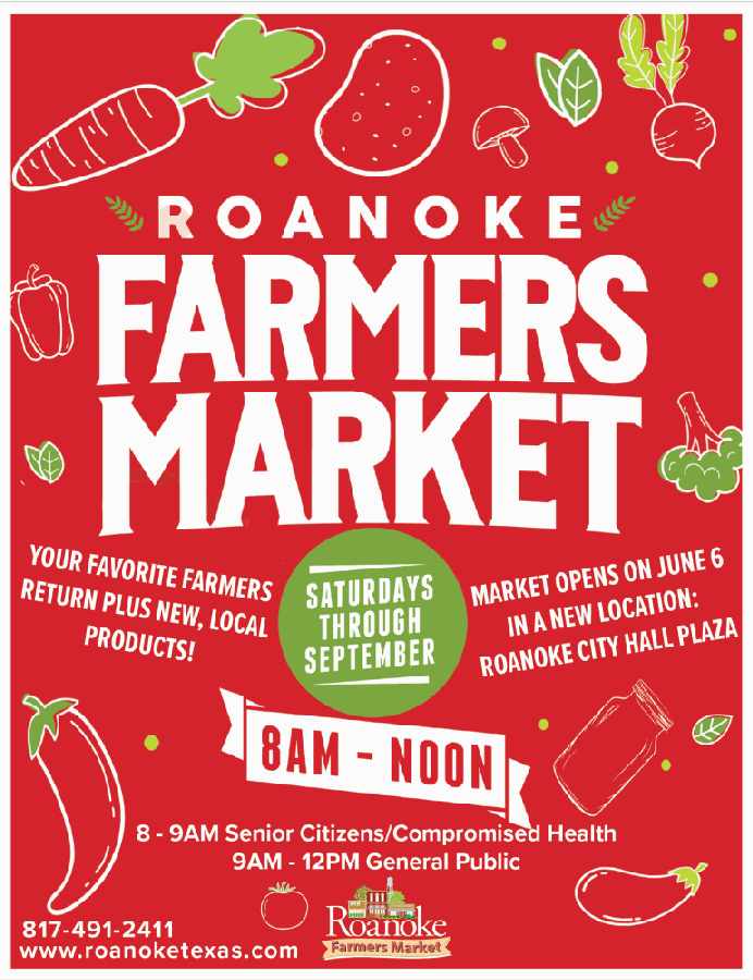 Roanoke city officials announced May 22 that the farmers market will be moved to a new location within the Roanoke City Hall plaza. (Courtesy city of Roanoke)