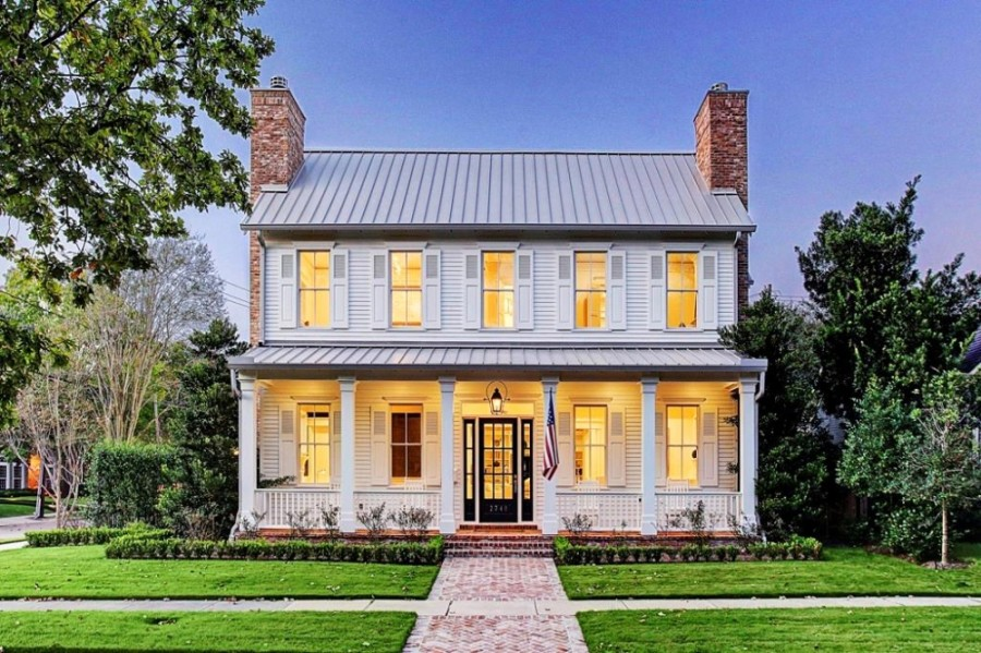 2740 Carolina Way, West University Place, has 4 bedrooms and 4 full and 3 half-baths, with 4,481 sq. ft. It sold for $2,176,001-$2,501,000 on May 22. (Courtesy Houston Association of Realtors)