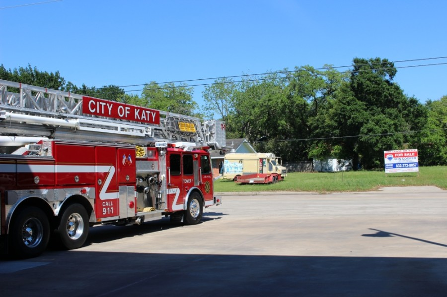 Fire Station No. 1 in Katy has temporarily closed due to mold. (Nola Z. Valente/Community Impact Newspaper)