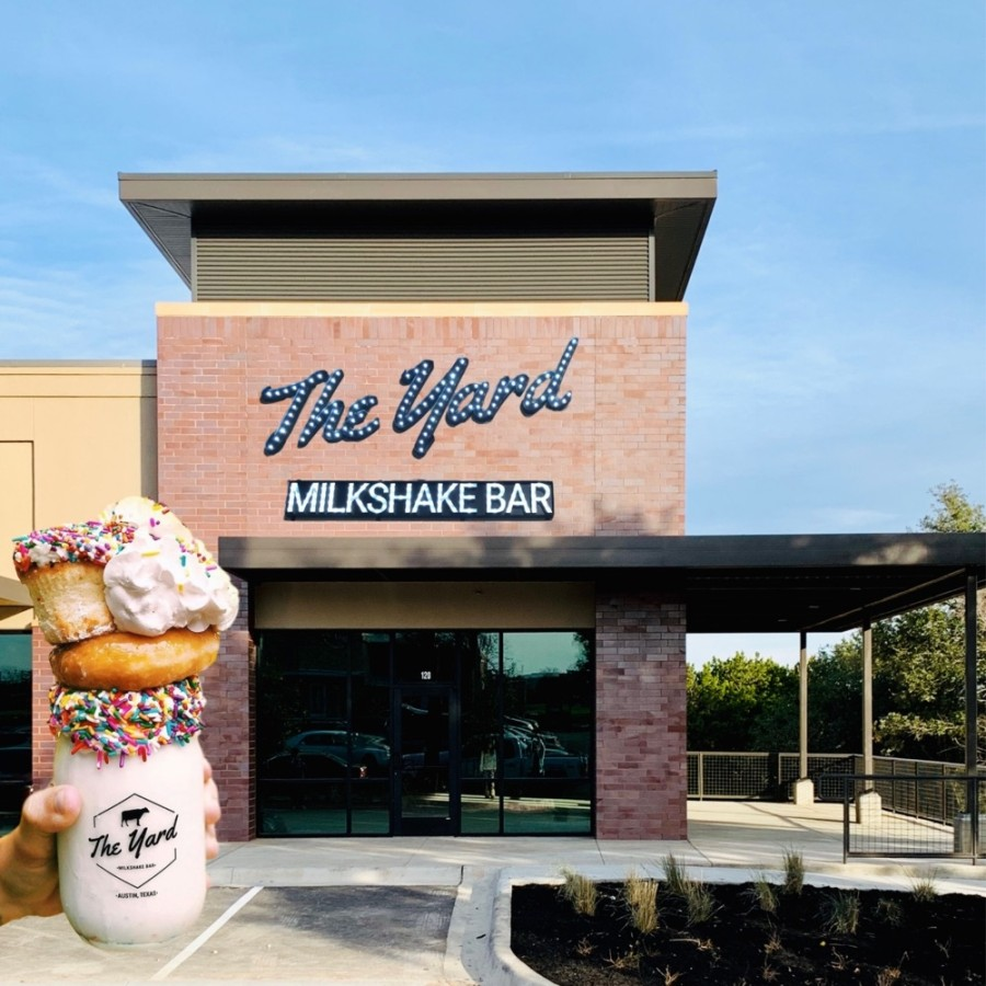 "The shop is known for its ""Instagram-worthy"" milkshakes. (Courtesy The Yard Milkshake Bar)"