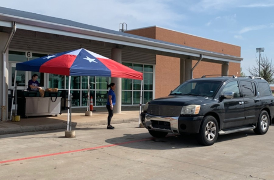 Keller ISD and Northwest ISD will continue district drive-thru meal programs throughout the month of June. (Courtesy Keller ISD)