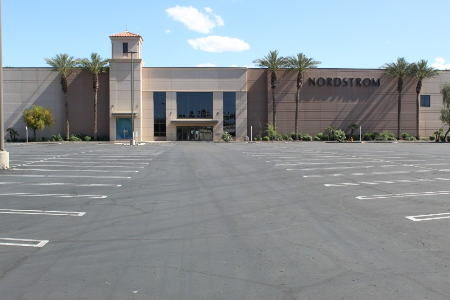 The Chandler Fashion Center announced it would close Sunday, May 31 and remained closed June 1. (Alexa D'Angelo/Community Impact Newspaper)
