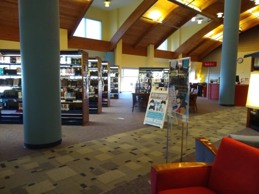 The fourth floor of the Frisco Public Library will be reopened to the public June 4. (William C. Wadsack/Community Impact Newspaper)