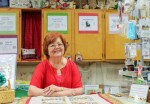 In April, shop owner Pamela Brazell celebrated 25 years of business for 3 Stitches, an embroidery shop in Spring. (Photo by Adriana Rezal/Community Impact Newspaper)