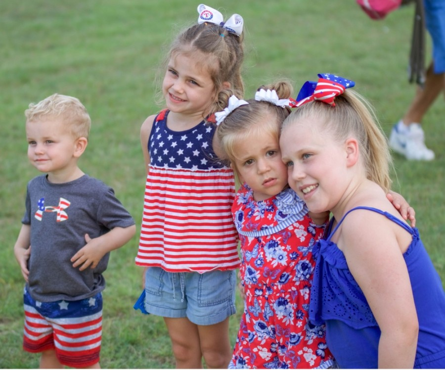 Young attendees enjoy a past Independence Day Spectacular. Social distancing will be encouraged at this year's event, which is scheduled from 6-10 p.m. July 3 at City Park, CR 200, Liberty Hill. (Courtesy city of Liberty Hill)