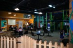 Jungle Joe's offered indoor play areas for children and a health-conscious menu for adults. (Courtesy Jungle Joe's)