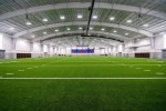 New indoor practice fields, such as this one at Pearce High School, are part of the new multipurpose activity centers that recently opened in Richardson ISD. (Courtesy Cadence McShane)