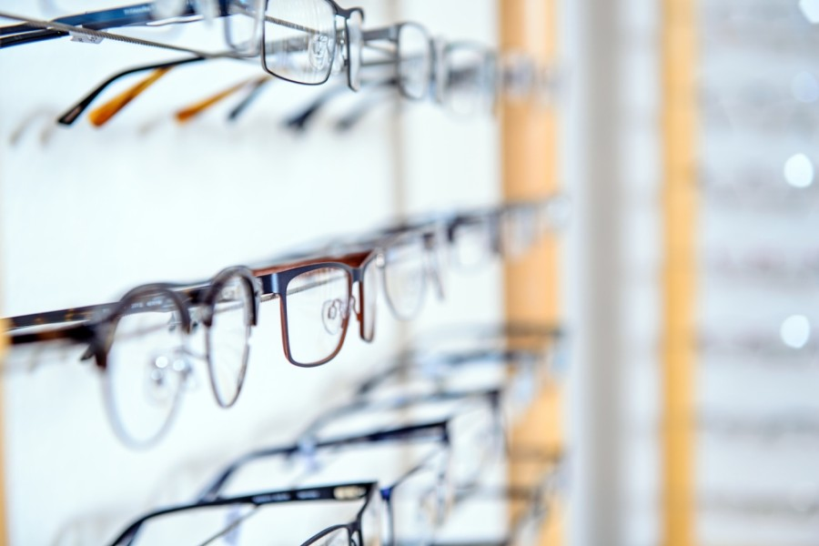 The business offers eye exams and a selection of frames. (Courtesy Fotolia)