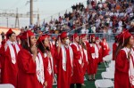 High School Seniors were honored at the CHS graduation on June 3, 2020, in New Braunfels. (Lauren Canterberry/Community Impact Newspaper)